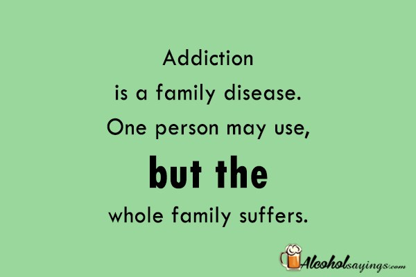 alcoholism a family disease Nih medlineplus the magazine, the science of addiction drugs, brains, and behavior.