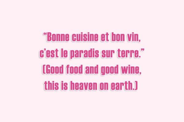 Bonne cuisine et bon vin c est le paradis sur terre - Cuisine simple et bonne ...