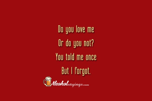 Do you love me quotes images