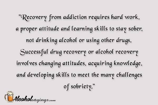 staying sober essay You're treated during the day or evening but don't stay overnight the major focus  is relapse  your recovery doesn't end at getting sober your brain still needs.